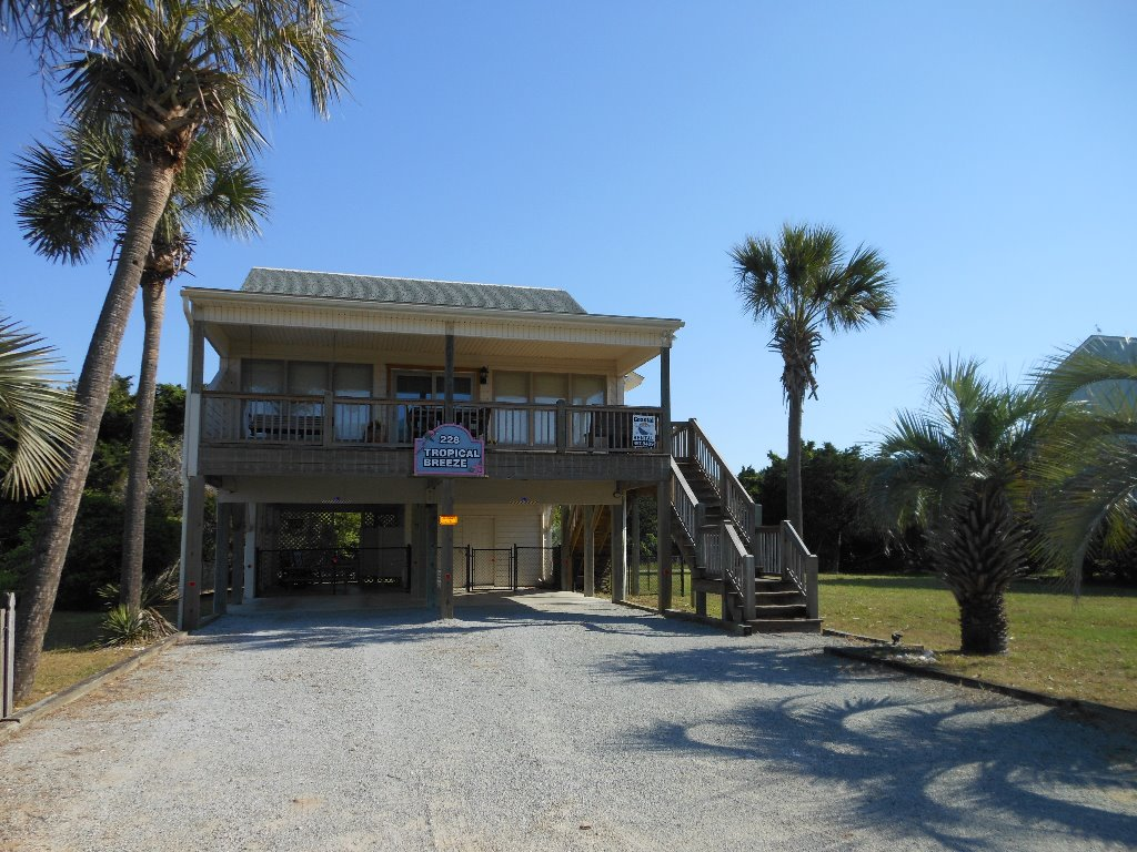 Tropical Breeze Oceanview - Dog-Friendly Beach House - Oak
