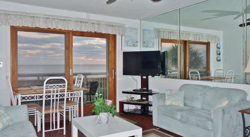 Breakers 240 True Direct Oceanfront End Unit Best View Hilton Head Offers North Forest Beach