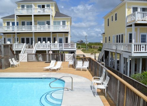 DATES AVAILABLE BOOK NOW -  Oceanfront - Pool - Private Hot Tub on Oceanfront Deck