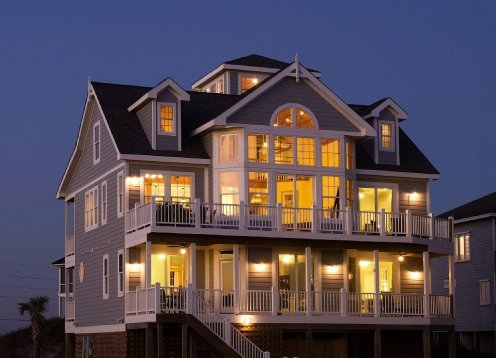 Spectacular Oceanfront! 7 Bedrooms, Pool, Elevator, Hot Tub, Pets