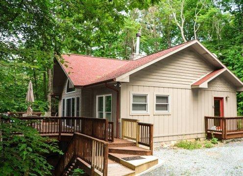Treetop Cabin - Wifi - AC - Huge Deck - Pet Friendly -Sleeps 6