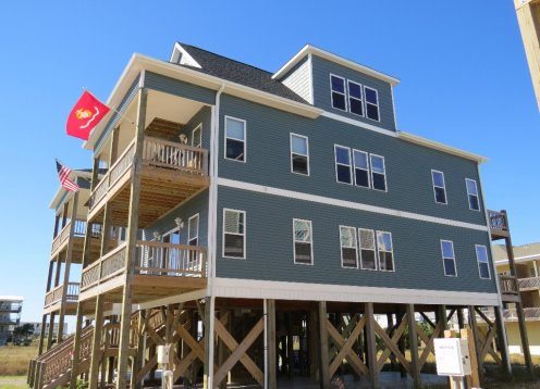 Gorgeous New Luxury 4 Bedroom Home - Ocean View - Pet Friendly