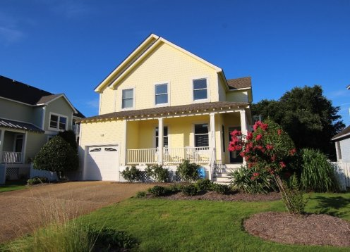 Seaside Cottage: 4 bedroom,private pool and hot tub in the Currituck Club