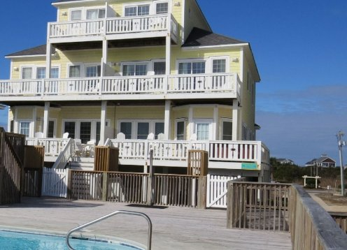 DATES AVAILABLE BOOK NOW - Oceanfront - Private Hot Tub on Oceanfront Deck - Pool