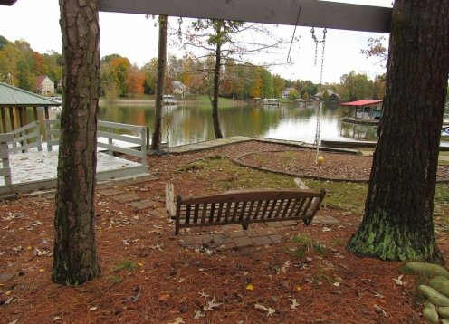 ALL DECKED OUT - NEW LISTING!  5 BD-4 BA lakefront home - dock & ramp