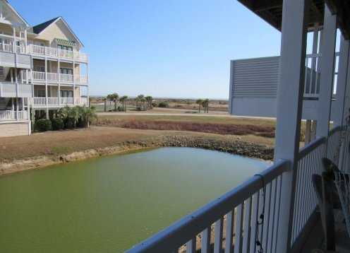 BARGE INN - NEW LISTING!  3 BR 4 BA Ocean View on lagoon