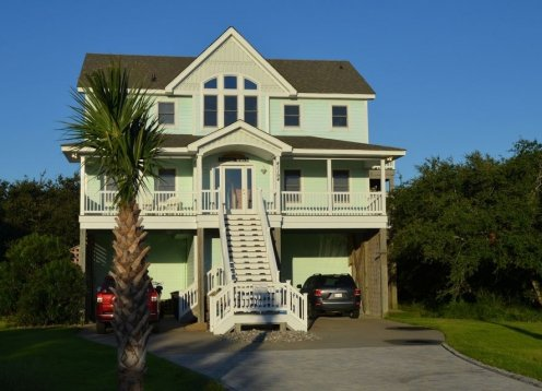 Sunset Watch Hatteras Island - 6 BR, Oceanfront Beach Klub, Avon Pier, Pool