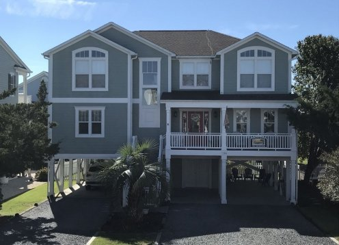 Clean Family-friendly Ocean View with 2 Master Suites. Steps to beach & restaurants,