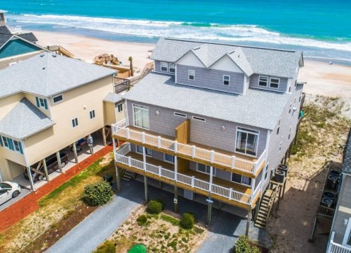 Stories By The Sea - 5 BR, 4.5 Oceanfront Contemporary Beach Home
